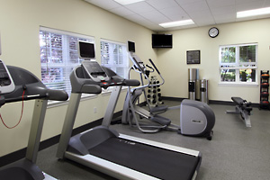 The Homewood Suites Hotel Fitness and Work Out Room
