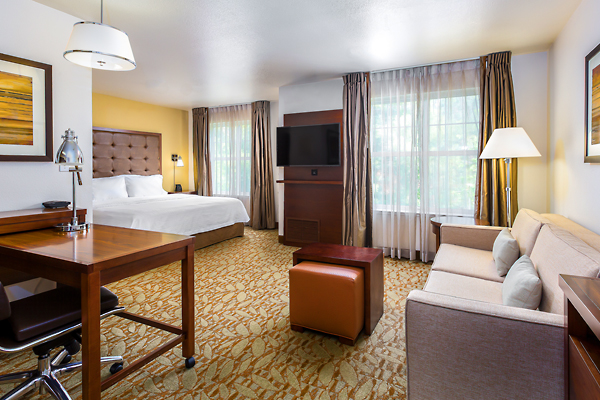 The Homewood Suites Hotel Suite